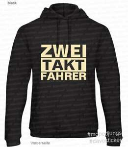 Kapuzen-Sweater-Hoodie-034-Zwei-Takt-Fahrer-034-Mopedjungs-Simson-MZ-Trabant-IFA