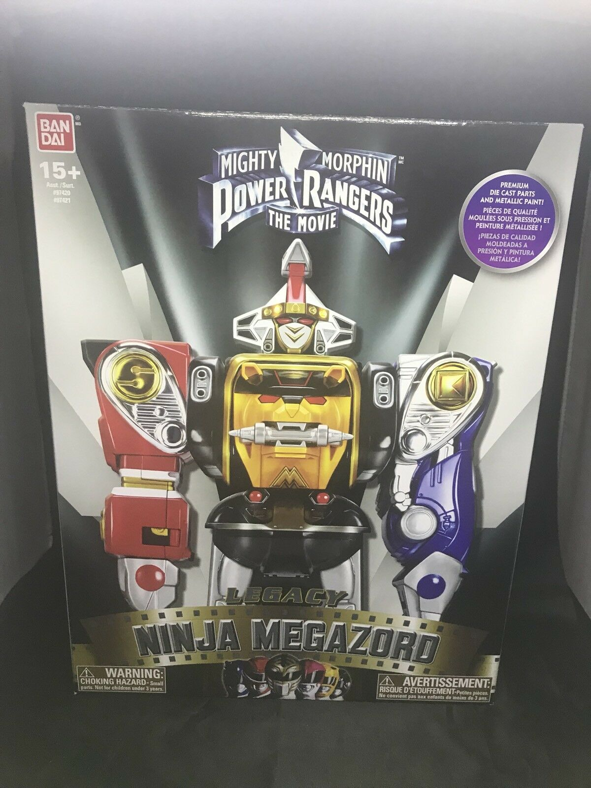 Legacy Ninja Megazord Mighty Morphin Power Rangers Movie Figure  ouverte, mais grande  marque célèbre