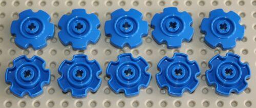 NEW 57520 Lego 10x Technic Blue Tread Sprocket Wheel