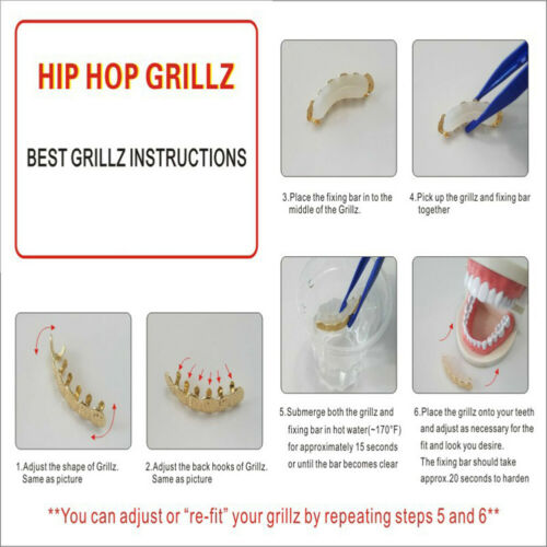 Details about  /Single Rock Rapper Cross Grills Tooth Cap Teeth Decor Hip Hop Cosplay Jewelry