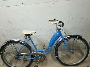 1950 Schwinn BF Goodrich Horn Tank Ladies Bicycle All Original