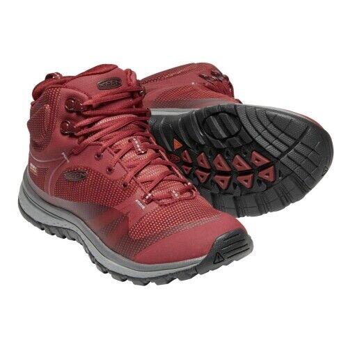 Keen Terradora Mid WP Damen Wanderschuhe Damen rot Schuhe Outdoor Trekking