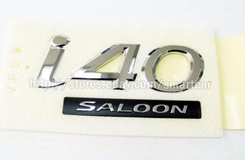 i40 Saloon emblem badge for 2012 2013 2014 2015 Hyundai i40 Sedan Saloon