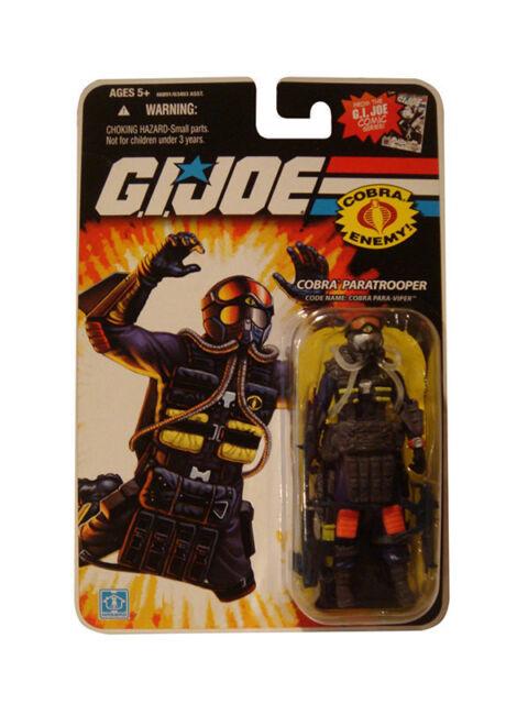 """G I Joe Para-Viper /""""Cobra Paratrooper/"""" Action Figure 3.75/"""""""