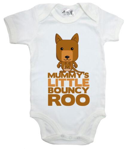 "Dirty Fingers /""Mummy/'s Little Bouncy Roo/"" Baby Body Kangaroo AUSTRALIE Cadeau"