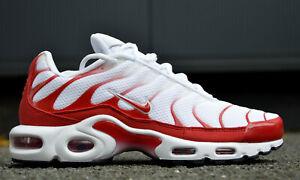 Detalles de Nike Air Max plus zapatos caballero zapatillas de deporte señora cortos zapatillas tuned Weiss ver título original