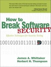 How to Break Software Security, Hugh Thompson, James A. Whittaker, Good Book