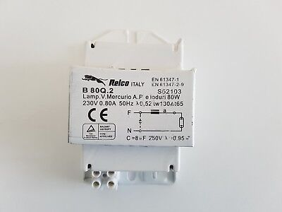 Business & Industrial Restaurant & Food Service Discreet Relco S52103 B80q.2 Reactor Power Supply Cl.1 Vapours Mercury For Hql80 Hpln80 Moderate Price
