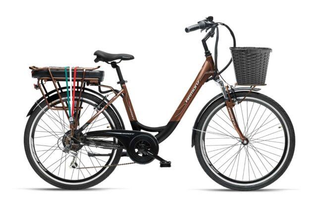 Armony Firenze Adv Blackbrown Bici Elettrica Batt Litio 36v13ah Telaio Alu
