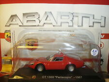 1/43 Abarth Fiat OT 1300 Periscopio 1967 + Brochure Hachette N 31