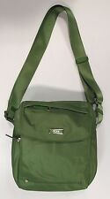Tumi SINGAPORE Cross body MESSENGER Nylon Bag & Leather Accents 481981LSO Green