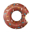 Donut Swimming Ring Pool Float Lounger Beach Swimming Outdoor Lilo Toy Gift Kids