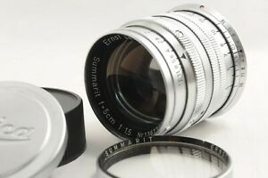 NEAR-MINT-Leica-Leitz-Ernst-GmbH-Summarit-50mm-5cm-f1-5-Objektiv-M-Mount-Japan-1718