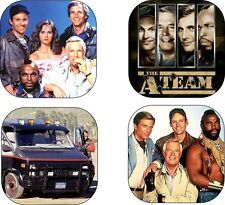The A-Team Coaster Set Mr T ateam Van