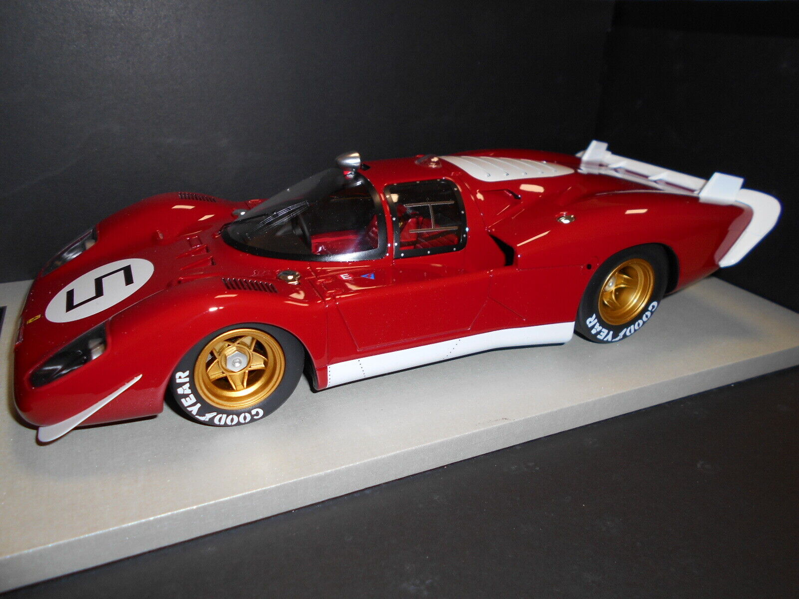 TM18-04I by TECNOMODEL FERRARI 512S LONG TAIL  5 1 18