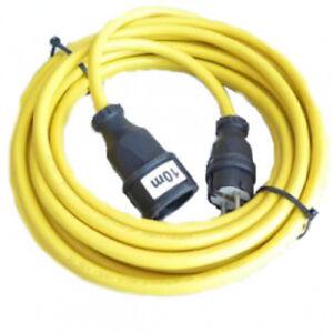 Verlaengerunskabel-Laegler-Hummel-oder-Randschleifer-Elan-3x-2-5-mm-Gelb-10-Meter