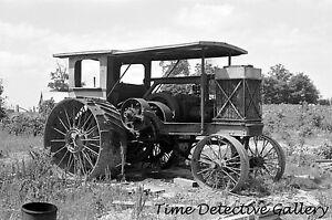 Old Tractor - circa 1930s - Historic Photo Print