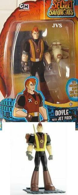 Cartoon Network The Secret Saturdays Doyle with Jet Pack figure Brand New!