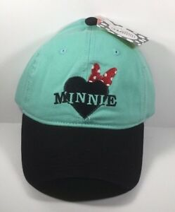 Image is loading NEW-Womens-Disney-Minnie-Mouse-Adjustable-Baseball-Hat- 0a4ec01f544a