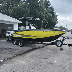 2019 Scarab 255 Open ID Only 35 hours Safe All around boat!  Fast and Fun!