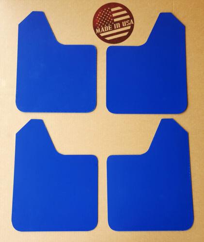 NO HARDWARE StreetRays 07-16 Lancer ES DE GTS Rock Mud Flaps STARTER Set BLUE