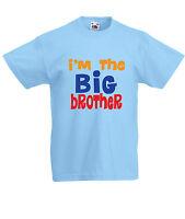 I'm the BIG brother- Funny, kids, boys T-Shirts-KB102