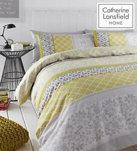 Catherine-Lansfield-Oriental-Birds-Duvet-Cover-Bedding-Set-Curtains-Easy-Care