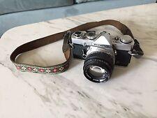 BEAUTY +++  Olympus OM-1 MD SLR 35mm Film Camera with Zuiko 50mm F1.4 Lens Film