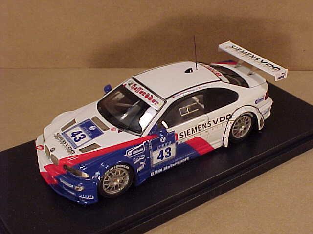 Lorn Façonné à la Main 1 43 Résine BMW M3 2004 Nurburgring, BMW Sports Moteurs