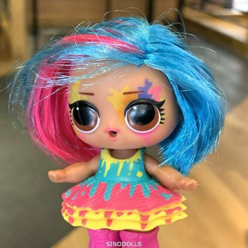 Real LOL Surprise HairGoals Splatters Artist Doll Toys Xmas Gift Color Chnager