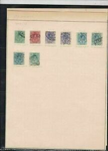 spain 1907/21 stamps page ref 18203