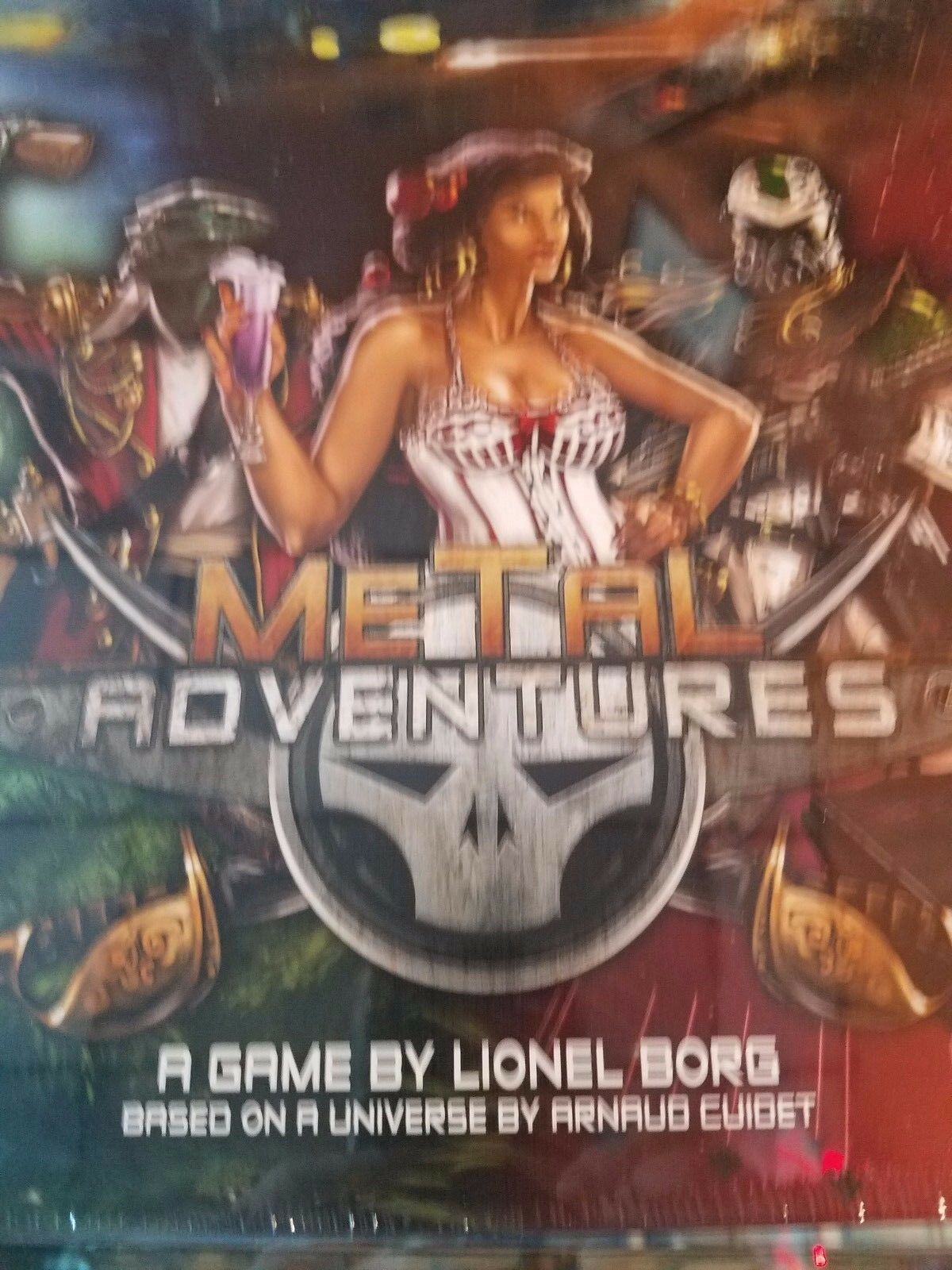 Metal Adventures - Board Game Awesome Games New NIB