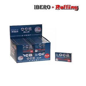 PAPEL-DE-FUMAR-CAJA-OCB-AZUL-X-PERT-BLUE-300-ROLLING-PAPER-CAJA-40-LIBRITOS