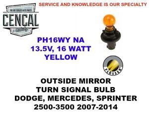 New Genuine Mercedes Dodge Sprinter 2500 3500 Front Turn Signal Light Bulb