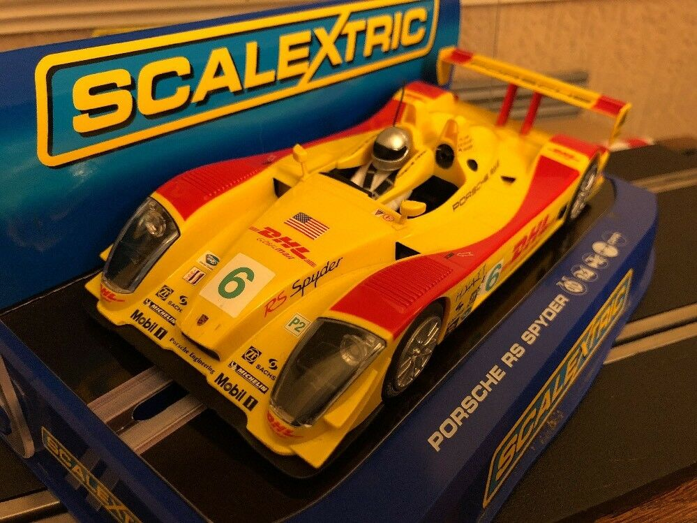 Scalextric Digital Porsche Rs Spyder DHL No6 C2812 Boxed Very Rare Car