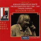 Orch.Suiten C-Dur/h-moll/D-Dur/D-Dur BWV 1066-1069 von CAMMS,Sandor Vegh (2000)