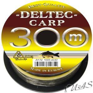 Cormoran Pro Carp Camou Karpfen Schnur Angel Schnur 1200M 0,28mm 1Cent//M Kva