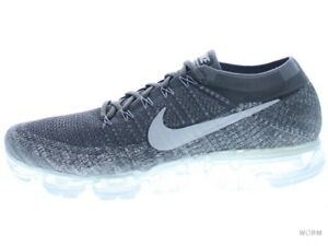 f3cd3971c76c8 NIKE AIR VAPORMAX FLYKNIT 849558-002 dark grey black-wolf grey Size ...