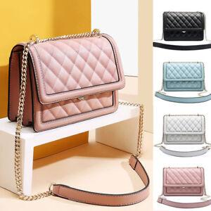 Women-039-s-Small-Mini-Real-Leather-Single-Shoulder-Bag-Crossbody-Bag-Chain-Purse