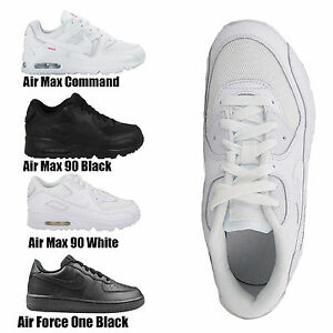 a612881bb1b656 Details about Kids Boys Girls Nike Air Max Lace Up Leather School Sports  Running Trainers Shoe