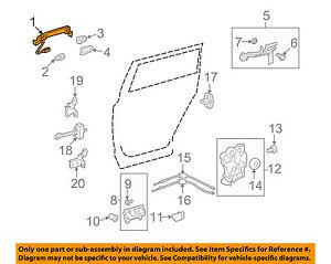 Front Left Honda Genuine 77431-SB6-665ZB Seat Cushion Trim Cover