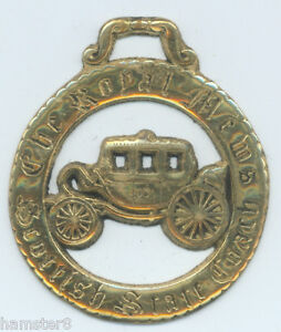 THE-ROYAL-MEWS-SCOTTISH-STATE-COACH-LARGE-Horse-brass