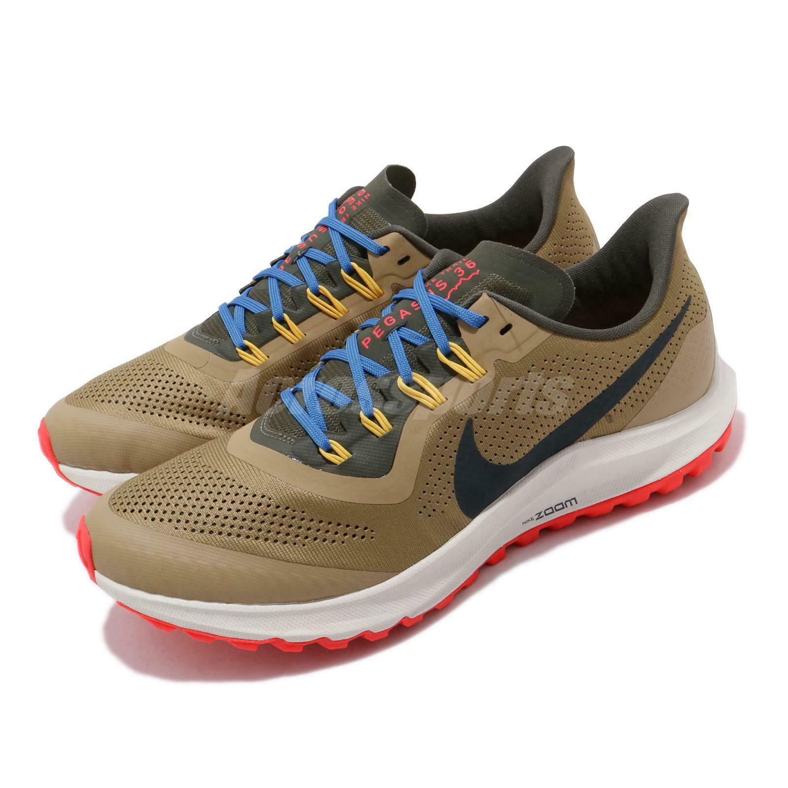 Nike Air Zoom Pegasus 36 Trail bruin zwart mannen Buitenshuis hardlopen schoenen AR5677-200