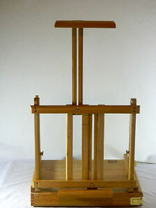 Art Easel Solid Wood Adjustable Portable Table Top Loew