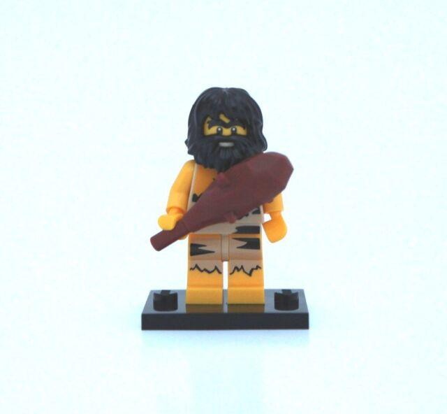 NEW LEGO MINIFIGURE SERIES 1 8683 - Caveman (with dark brown club)