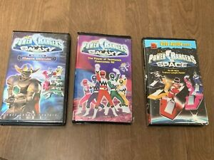 Power Rangers VHS LOT Turbo Lost Galaxy In Space Movie ...Power Rangers Lost Galaxy Magna Defender Vhs