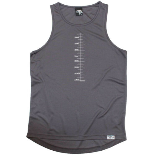 Sweat Level Running Vest Funny Mens Sports Performance Singlet