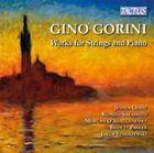Gino Gorini Works for Strings & Piano Jakub Tchorzewski 8007194105964