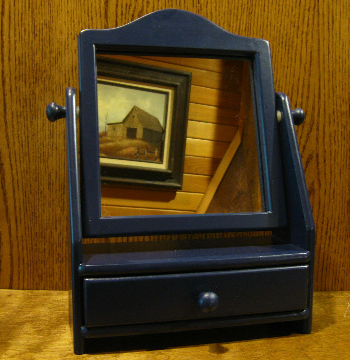 Tender Heart Treasures Doll Teddy Bear Accessory  62469 SWIVEL MIRROR w  DRAWER
