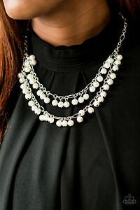 Image is loading 034-Beauty-Shop-Fashion-034-White-Pearl-Necklace- a2782069eec89